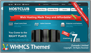 HOST CLUB - WHMCS v5.x Theme Skin Template