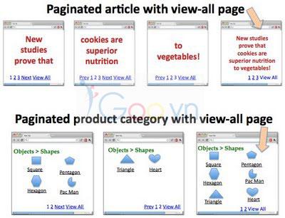 Phân trang danh mục để Google tìm kiếm nhanh nhất 2