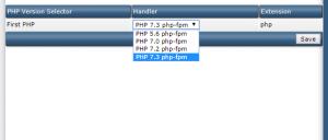 Hướng dẫn cài đặt 4 phiên bản PHP trên VPS sử dụng Directadmin